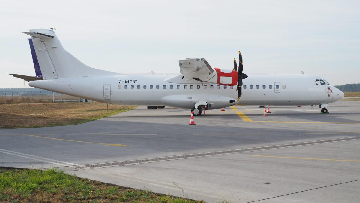 ATR-72 600 już pomalowany!