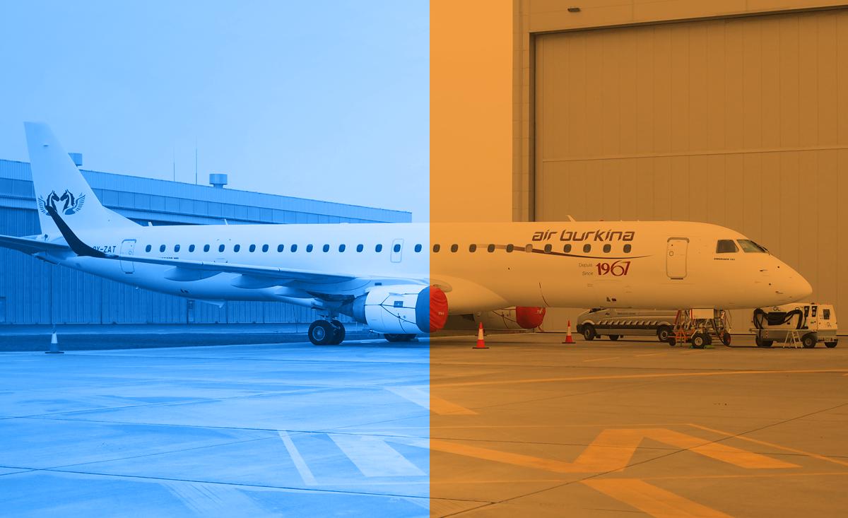 Obsługa bazowa samolotów Embraer ERJ 170/190 w WZL Nr 2 S.A.