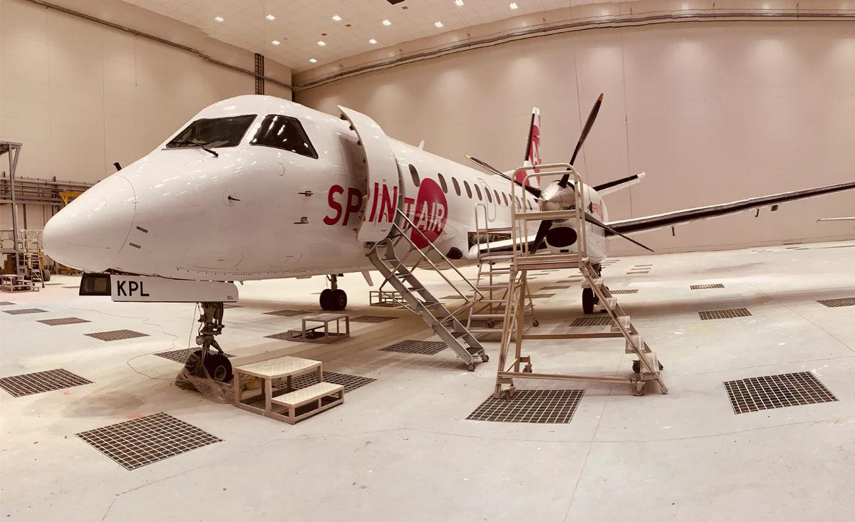 Kolejny SprintAir pomalowany w WZL Nr 2 S.A.