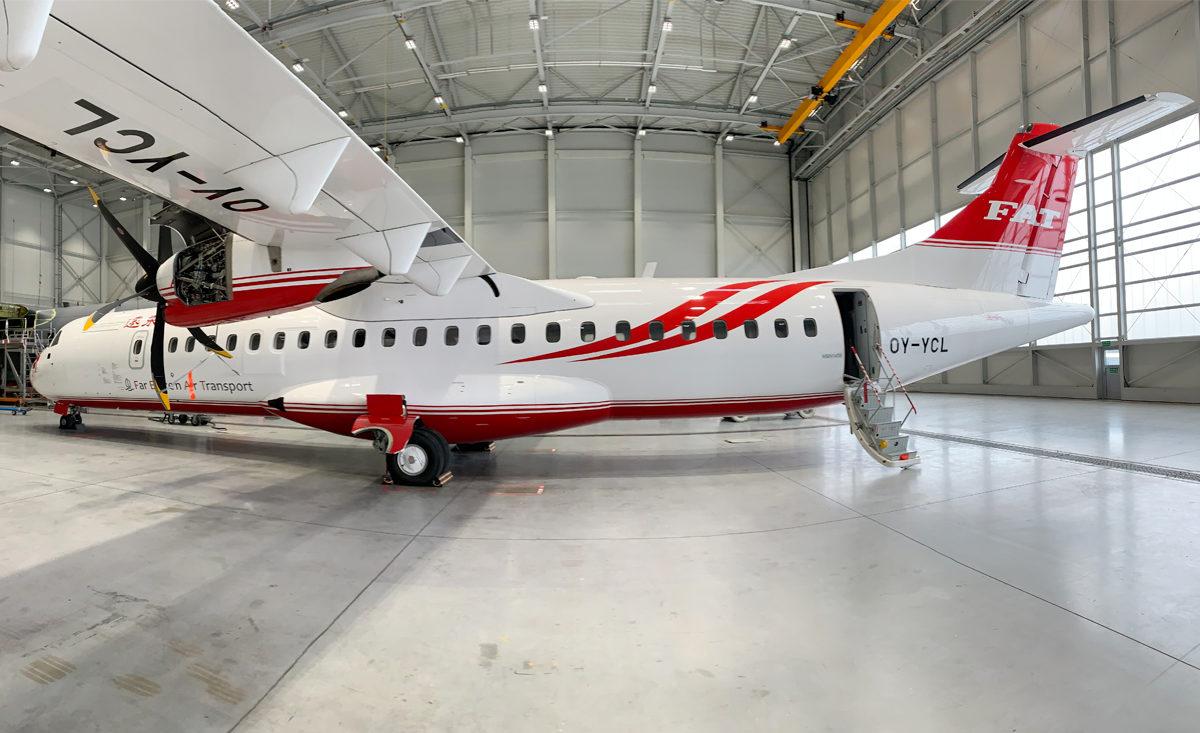 ATR 72-600 zyskał nową powłokę w malarni WZL Nr 2 S.A.