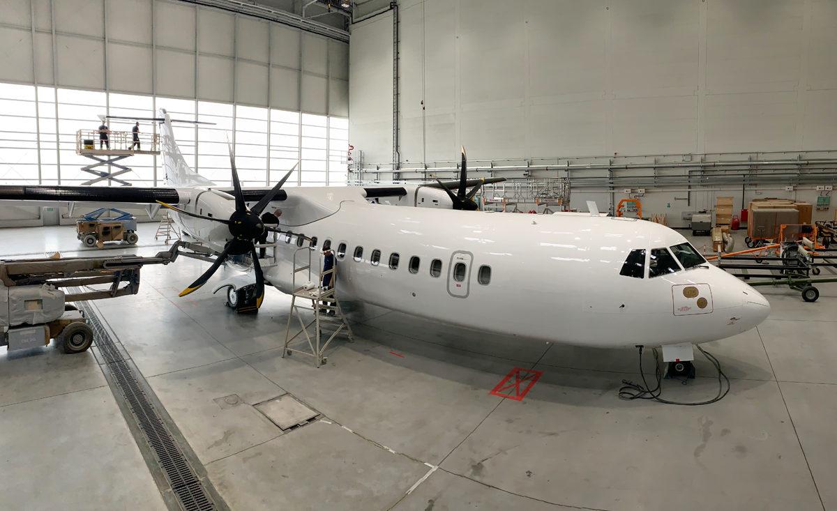 Malowanie ATR 72-600