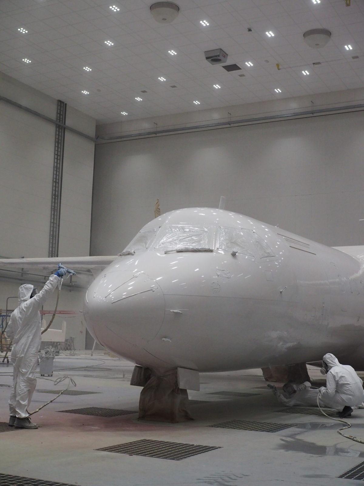 Nowoczesne malowanie samolotów